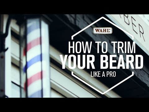 WAHL CANADA CONSUMER - HOW TO TRIM LIKE A PRO | With Ann-Marrie from Starks Barbershop