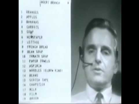 The Mother of All Demos, presented by Douglas Engelbart (196