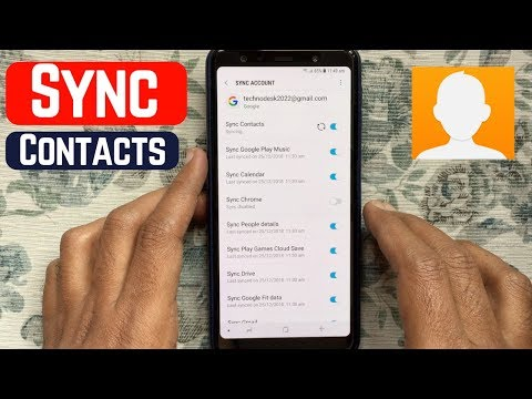 How To Sync Mobile Contacts To Gmail (Android)