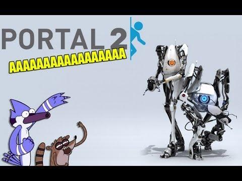 Он визжит как сучка[Portal 2]