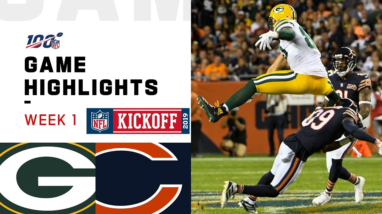 Packers Vs Bears Week 1 Highlights Nfl 2019