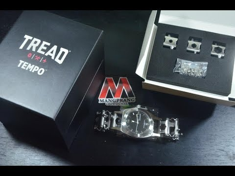 Leatherman Tread Tempo Stainless Steel Unboxing