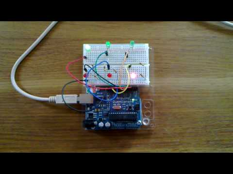 3-phase motor controller on Arduino board. - YouTube