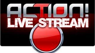 Como gravar LIVE STREAM pelo action!