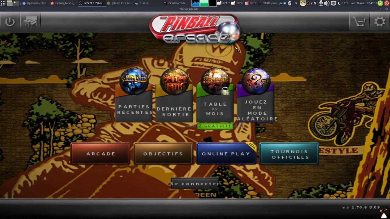 Steam Play beta : Jouez aux jeux Windows sous Steam Linux ! (Test avec  Pinball Arcade)