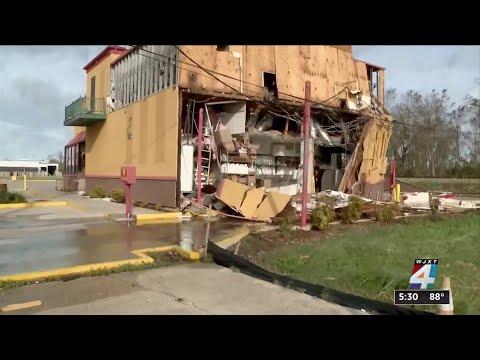 A look at the damage Hurricane Ida left in Louisiana