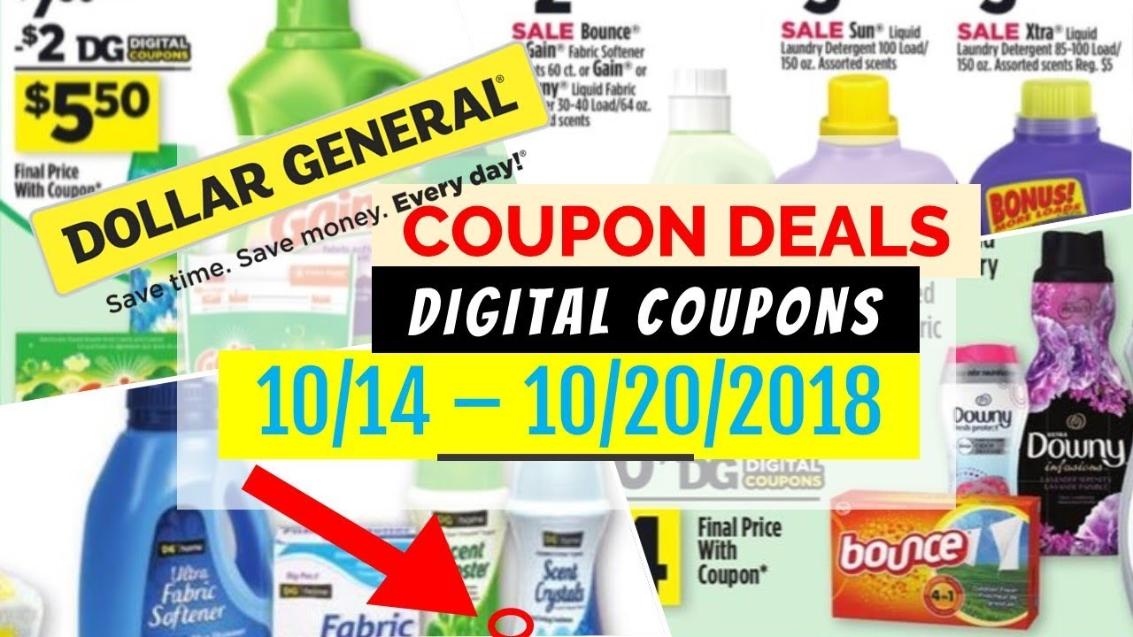 Dg coupons sign in
