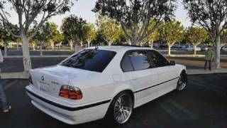 tribute to the bmw E38. 7serie