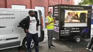 Burford Sports Food Trailer Handover