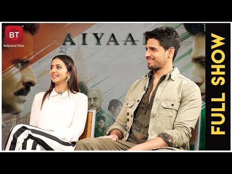 Aiyaary Movie | Sidharth Malhotra, Rakul Preet Singh | Full Exclusive Interview