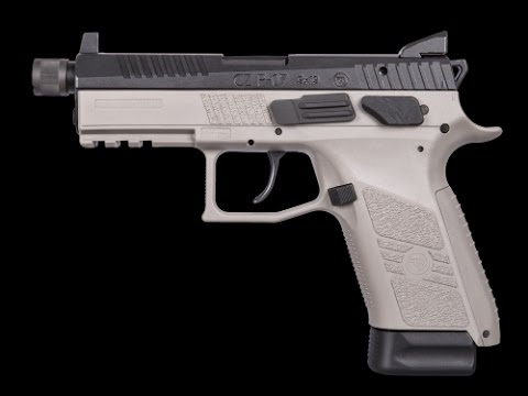 CZ P-07 Urban Grey Suppressor-Ready Unboxing Range time