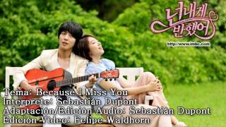 JUNG YONG HWA 그리워서 - BECAUSE I MISS YOU / SPANISH COVER Seba Dupont