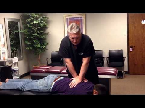 Upper Back Pain Relief At Advanced Chiropractic Relief for Dallas Man