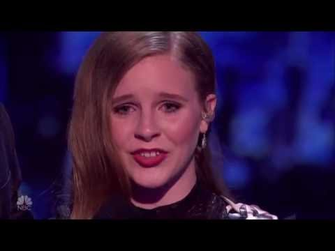 Kadie Lynn: Country Girl WOWS The Crowd | Semi-finals (FULL) | America's Got Talent 2016