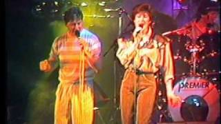 BZN Jan Keizer Carola Smit ISLAND IN THE STREAM (LIVE) @ Blokker 4 april 1987