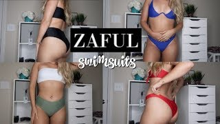 AFFORDABLE SUMMER BATHING SUIT TRY-ON HAUL | ZAFUL Mp3