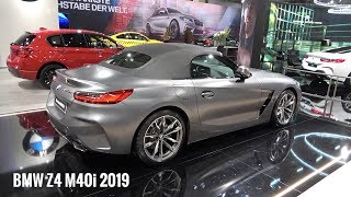 BMW Z4 M40i 2019 - first look, exterior & interior (340 HP roadster - Toyota Supra twin)