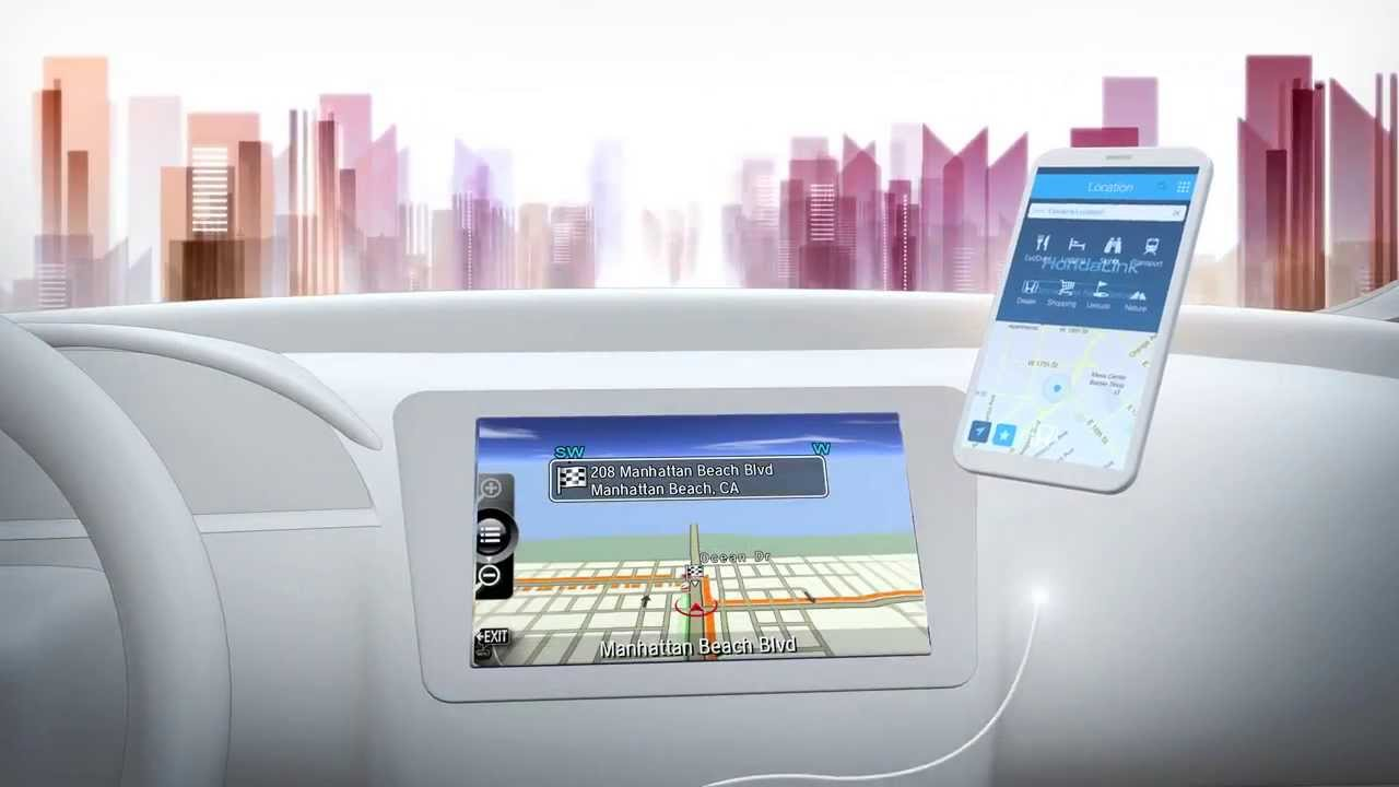 HondaLink Display Audio Informational Video - YouTube