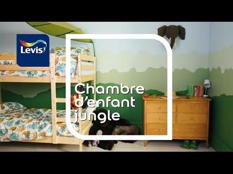 Comment Peindre Une Chambre DEnfant Jungle   Youtube