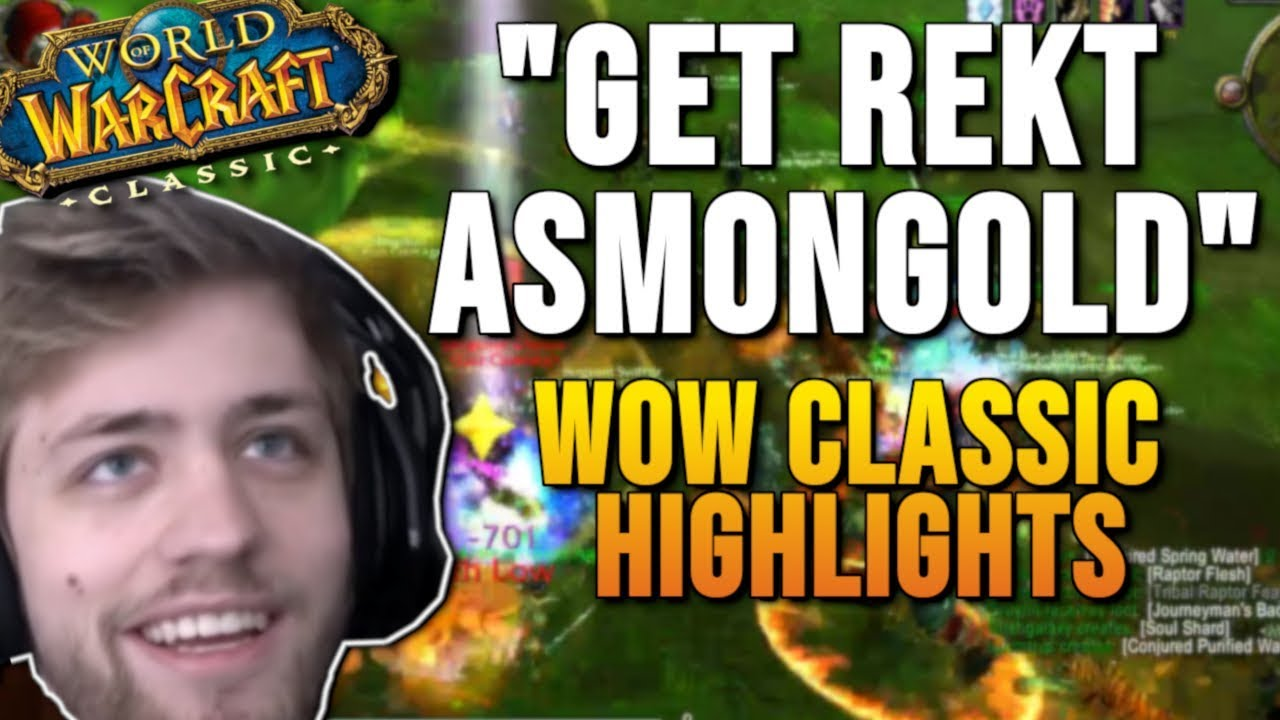 WoW Classic Highlights Part 3 - World of Warcraft Vanilla Best Moments