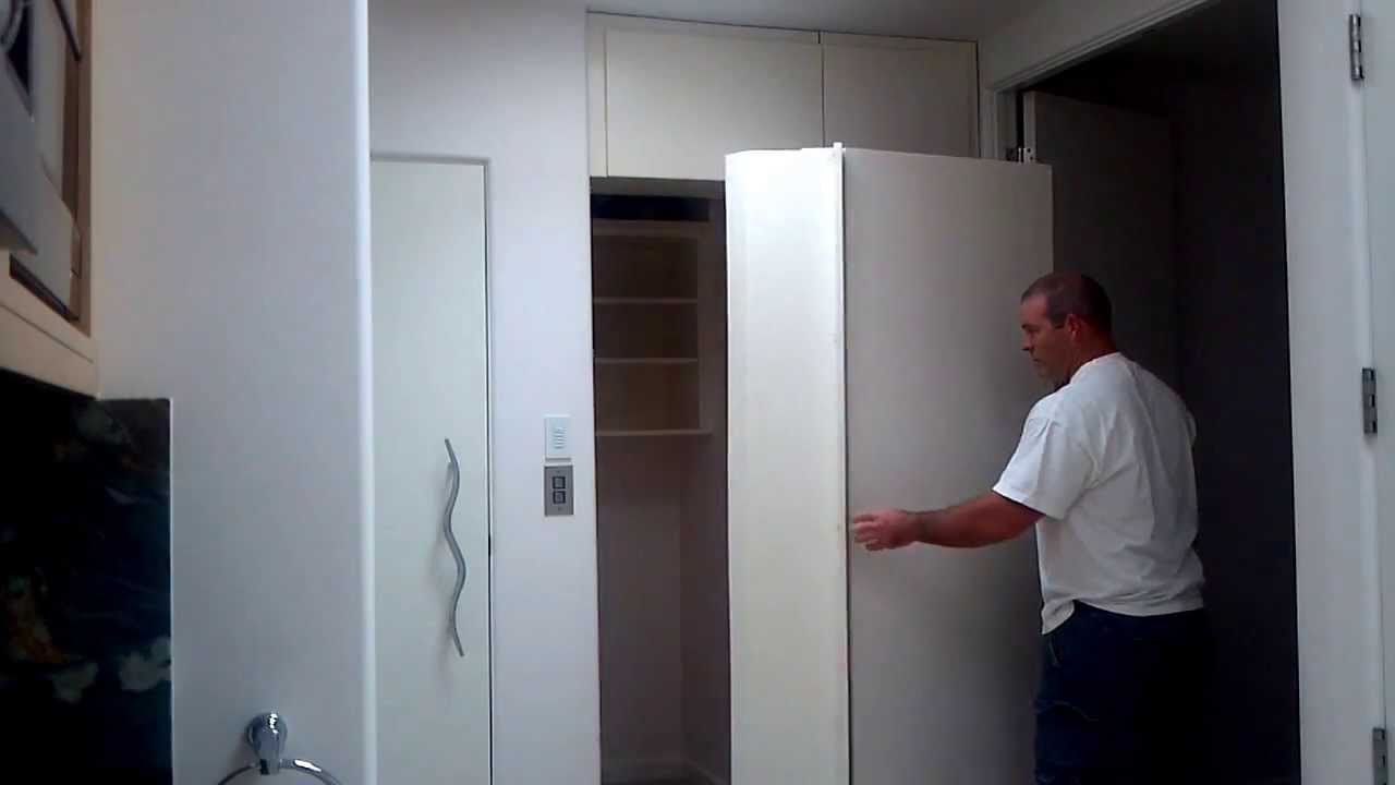 Modern secret hidden safe room