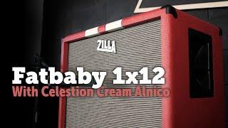 Zilla Fatbaby 1x12 - Celestion Alnico cream, too good not to record.