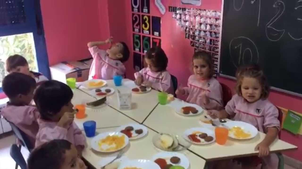 comedor educaci n infantil youtube On comedor infantil