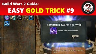 Guild Wars 2: 2015 Easy Gold Trick #9