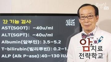 [암치료전략] 암환자가 알아야 할 간기능검사 - 류영석 원장