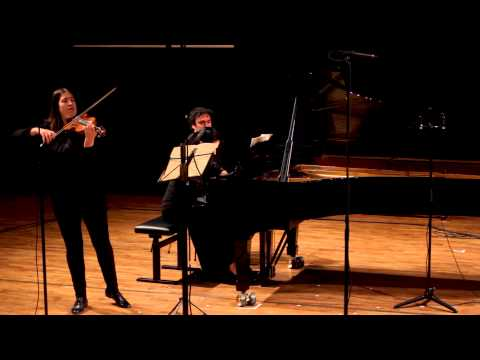Clara Schumann: Three romances for violin and piano   Op  22