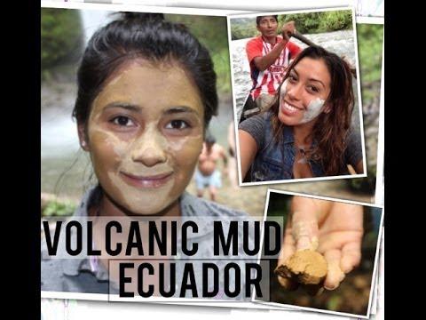 Around The World Beauty Secrets: Volcanic Mud Ecuador