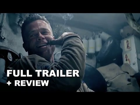 Fury Official Trailer Trailer Review Brad Pitt Beyond - New official trailer fury starring brad pitt