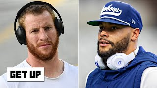 Carson Wentz or Dak Prescott: Which QB would teams rather have? | Get Up