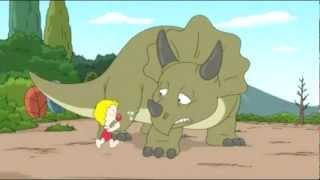 Cartoon - Triceratops Fulltour
