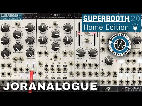Superbooth 20HE: Joranalogue - Synthesis Agnostic Eurorack Modules