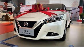 2020 Nissan Lannia Walkaround- China Auto Show(2020款日产蓝鸟,外观与内饰实拍)