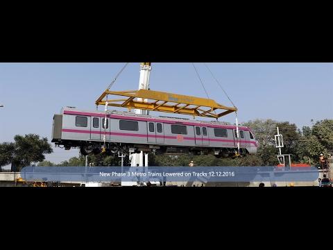 CONSTRUCTION OF DELHI METRO RAIL/দিল্লী মেট্রো রেল/दिल्ली मेट्रो रेल