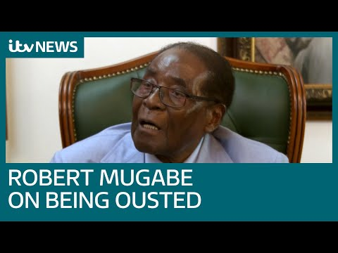 Robert Mugabe tells ITV News Zimbabwe 'must undo disgrace' of 'military takeover' | ITV News