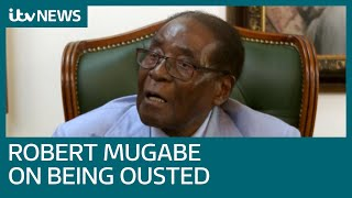 Robert Mugabe tells ITV News Zimbabwe 'must undo disgrace' of 'military takeover'