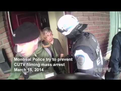 Montreal, a Model for Repression in Canada