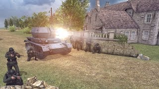 British Airborne Invasion & German Battle Market Garden 1944 | Men of War: Assault Squad 2 Gameplay