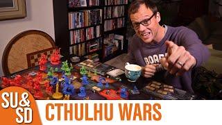 Cthulhu Wars Review - A Cthulhu Carol