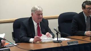 Board of Education Caucus Meeting 11/14/18