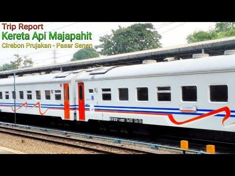 Trip Report || Nuansa Pagi Naik KA Majapahit Ke Kota Jakarta