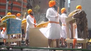 Nagara Jatha - Sikh Day Parade 2014  - the tamanche beat