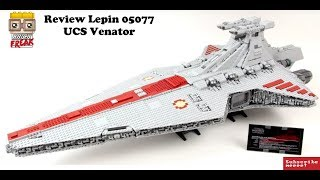 UCS Venator Review - Lepin 05077 - 100 subscriber Special english