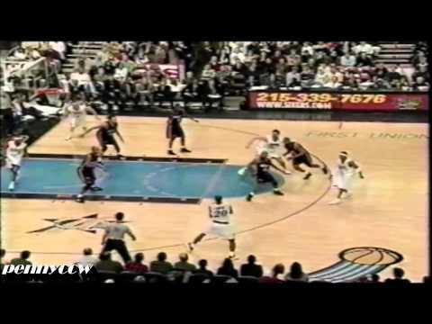 Allen Iverson & Keith Van Horn (Season High 33pts) Highlights vs Miami Heat 02/03 NBA *2003.01.31