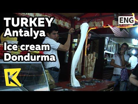 【K】Turkey Travel-Antalya[터키 여행-안탈리아]놀려야 제 맛인 아이스크림 돈두르마/Turkish Ice cream Dondurma/Sea/Sunken city