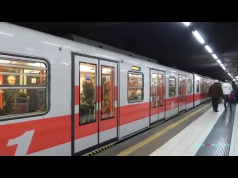 Metro a Milano: The Metro System of Milan, Italy 2016