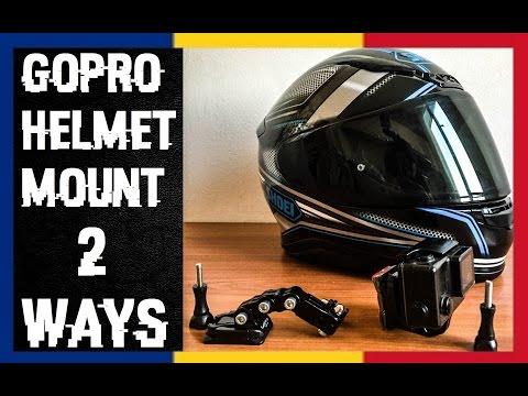 HoriaSan S01E59   GoPro Helmet Mount on Shoei NXR